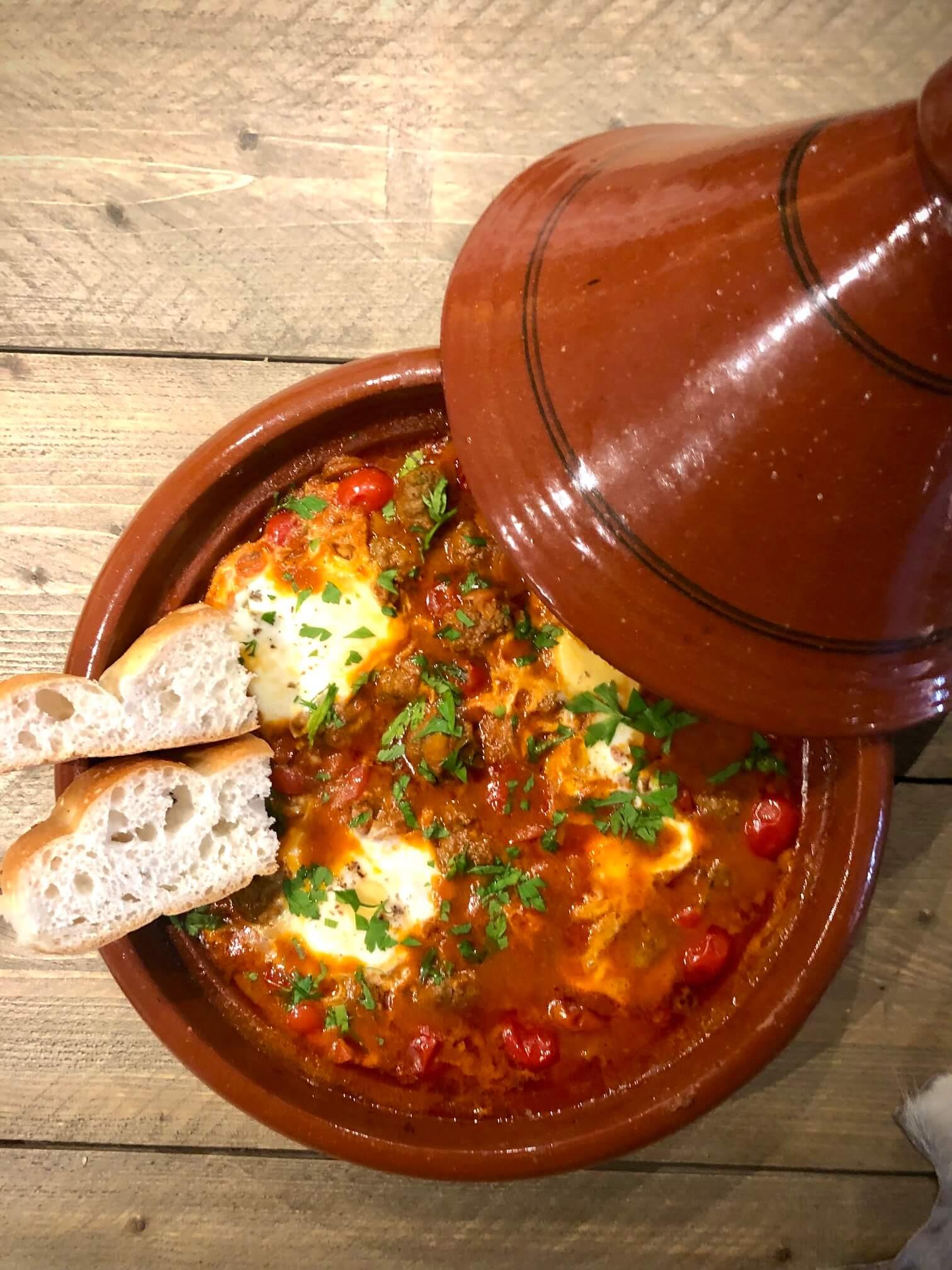 Tajine Shakshuka Fire & Taste